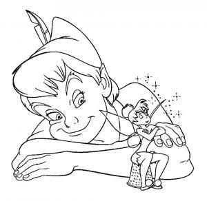 феи дин дин картинки раскраски крупные (1)