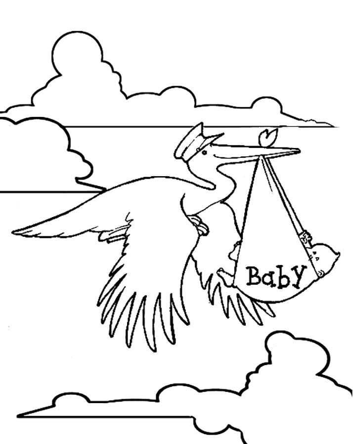 Нарисовать открытку с новорожденным простым карандашом