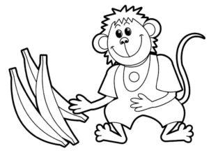 Дикие животные картинки раскраски (8)