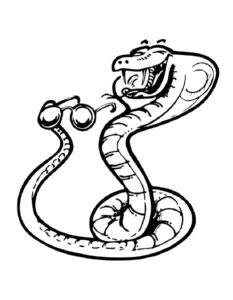 -картинки-раскраски-1-233x300 Змеи