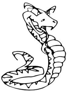 -картинки-раскраски-18-233x300 Змеи