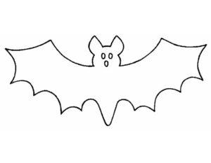 Летучая мышь картинки раскраски (25)
