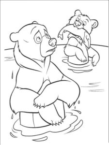 -и-мишки-картинки-раскраски-32-225x300 Медведи и мишки