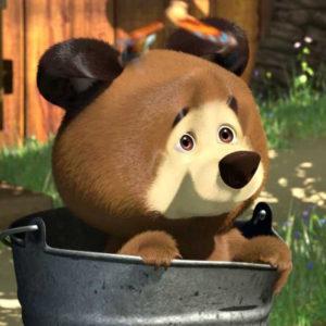 Медведи и мишки раскраски