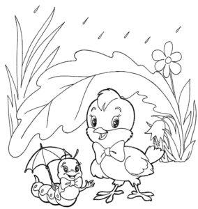 Насекомые гусеница картинки раскраски (1)