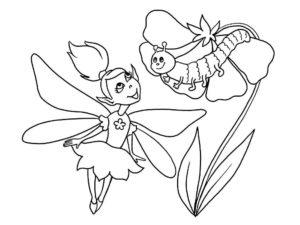 Насекомые гусеница картинки раскраски (66)