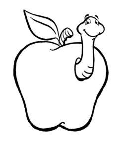 Насекомые гусеница картинки раскраски (8)