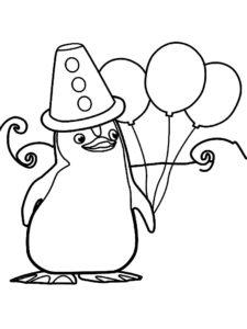 -картинки-раскраски-32-225x300 Пингвин