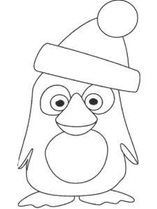 -картинки-раскраски-41-225x300 Пингвин