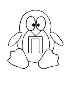-картинки-раскраски-53-240x300 Пингвин