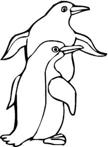 -картинки-раскраски-56-221x300 Пингвин