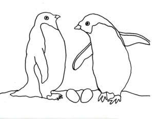 -картинки-раскраски-67-300x232 Пингвин