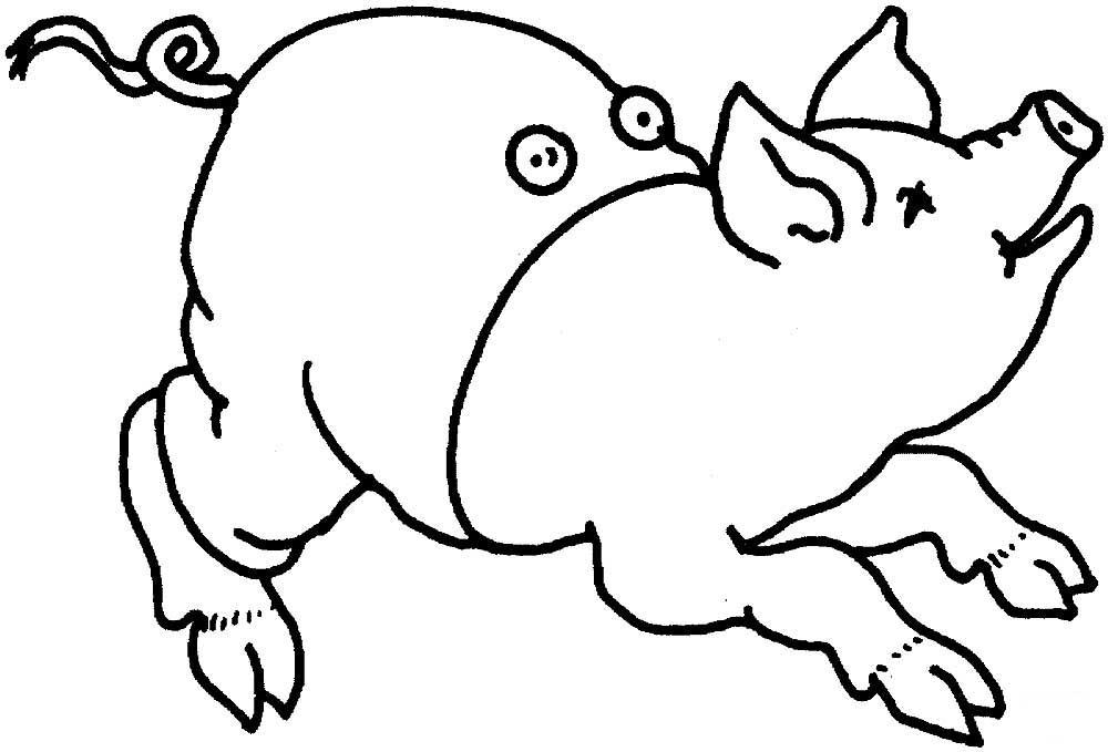 Свинья картинки шаблоны, открытки