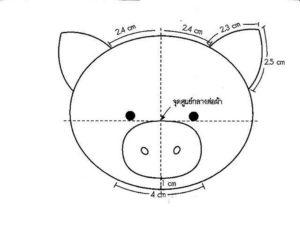 Свинья картинки раскраски (10)