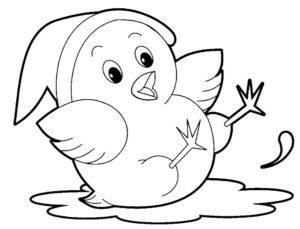 -картинки-раскраски-25-300x229 Цыпленок