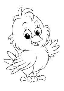 -картинки-раскраски-44-212x300 Цыпленок