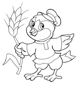 -картинки-раскраски-66-269x300 Цыпленок