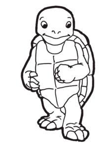 -картинки-раскраски-30-225x300 Черепаха