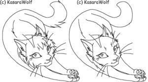 Коты воители картинки раскраски 1