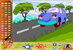 Автомобиль  онлайн раскраска