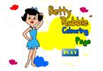 Бетти Раубл  онлайн раскраска