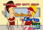 Бивис и БаттХед онлайн раскраска