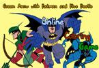 Бэтмен онлайн раскраска