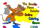 Великая мышь онлайн раскраска