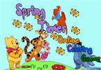Винни Пух и его друзья онлайн раскраска