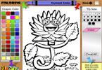 Весенний цветок 1 – 07 онлайн раскраска