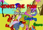 Винни Пух онлайн раскраска