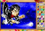 Гарри Поттер   онлайн раскраска