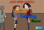 Джейн онлайн раскраска