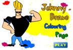 Джонни Браво онлайн раскраска