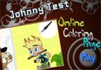 Джонни Тест   онлайн раскраска