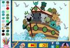 Животный парк  онлайн раскраска