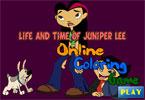Жизнь и можжевельник Ли онлайн раскраска
