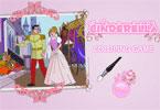 Золушка и принц онлайн раскраска