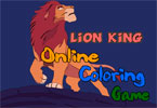 Король Лев   онлайн раскраска