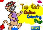 Коты онлайн раскраска