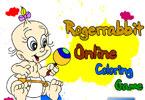 Кролик Роджер онлайн раскраска