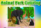 Мандала животных онлайн раскраска