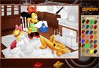Микки семья онлайн раскраска