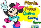 Минни Маус онлайн раскраска