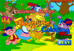 Мишки Гамми онлайн раскраска
