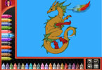 Животные  онлайн раскраска