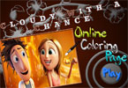 Облачно возможны осадки онлайн раскраска