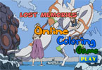 Потерянные Воспоминания онлайн раскраска