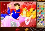 Принцесса Аврора онлайн раскраска
