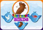 Птицы  онлайн раскраска
